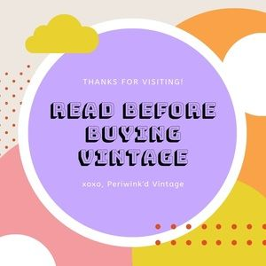 Tips for buying vintage items 🌈